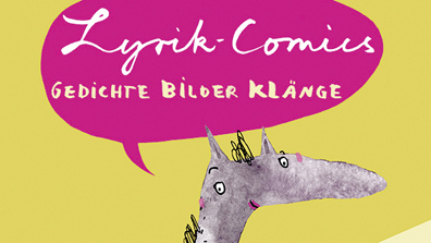 Buchcover: Lyrik-Comics